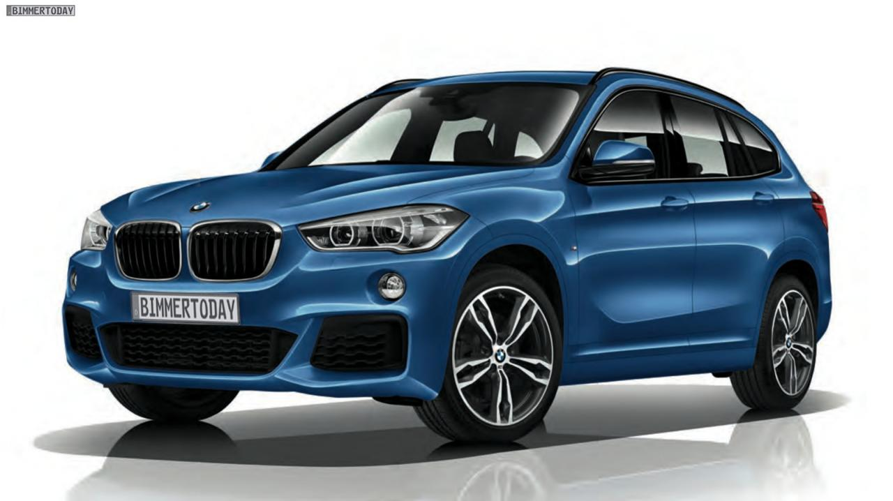 le nouveau bmw x1 m sport est d j l. Black Bedroom Furniture Sets. Home Design Ideas