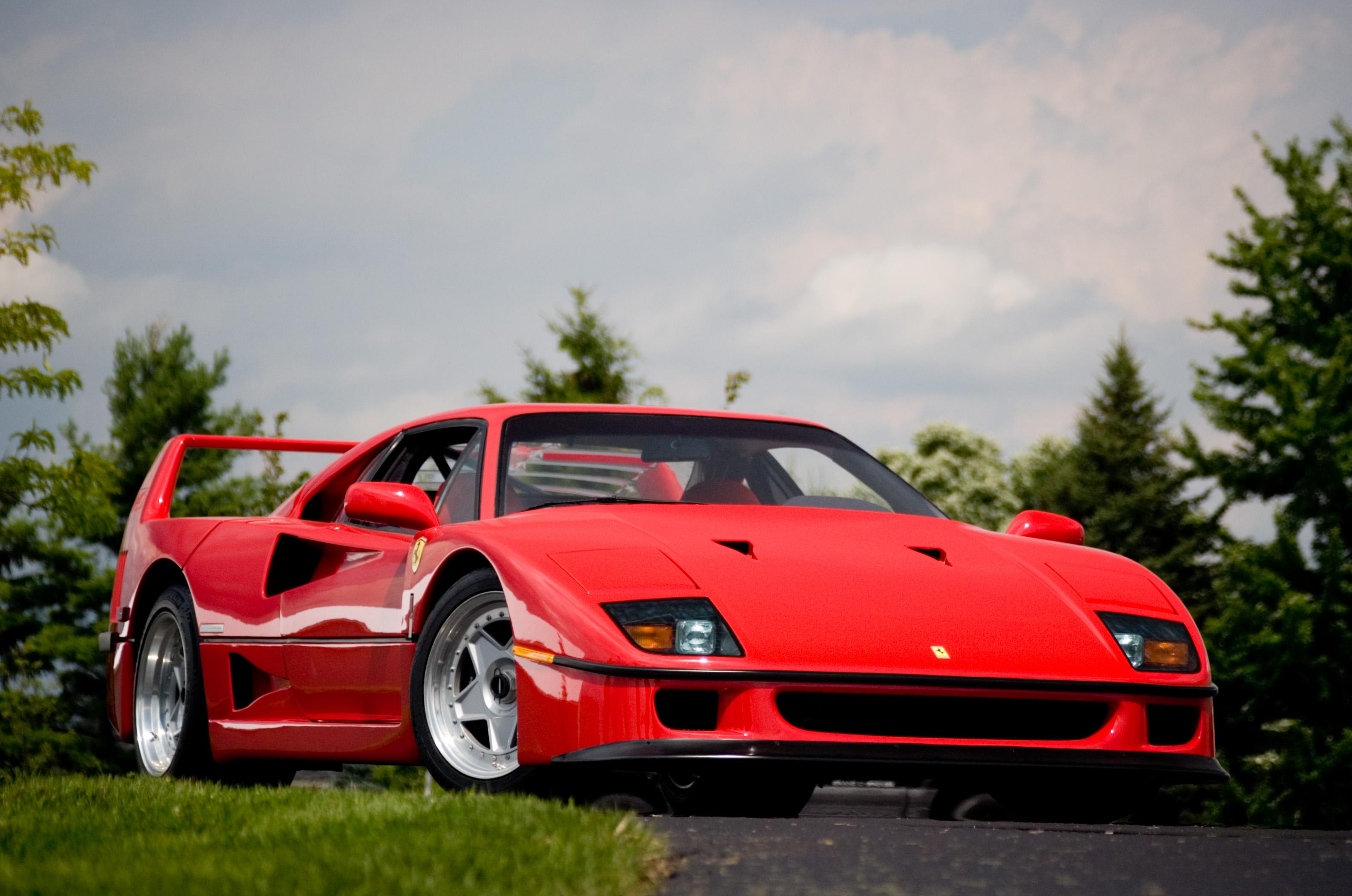 La ferrari f40 la meilleure voiture du monde - Image de voiture ferrari ...