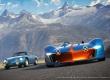 Alpine Vision Gran Turismo avec ancienne