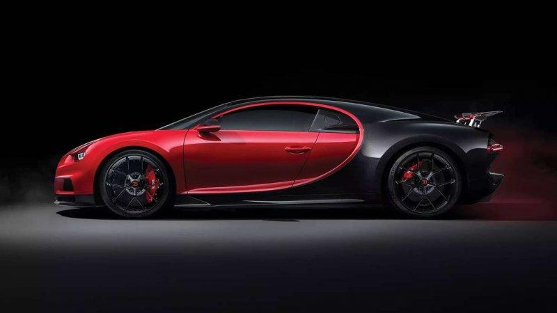 bugatti chiron sport objectif 450 km h en vitesse de pointe. Black Bedroom Furniture Sets. Home Design Ideas