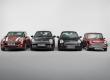 4 générations de Mini