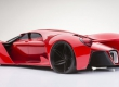 Ferrari F80 Concept arrière