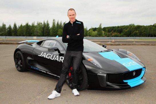 Christophe Froome chez Jaguar