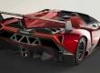 Lamborghini Veneno Roadster arrière