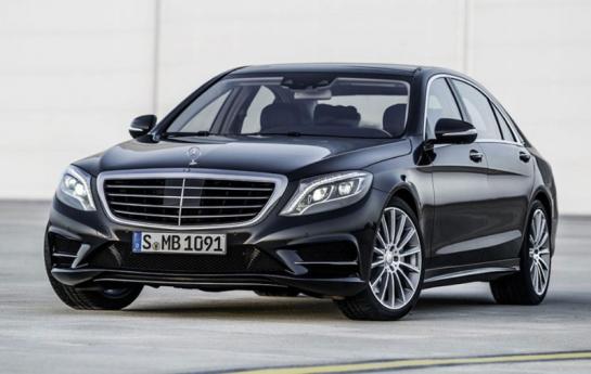 Mercedes Classe S avant
