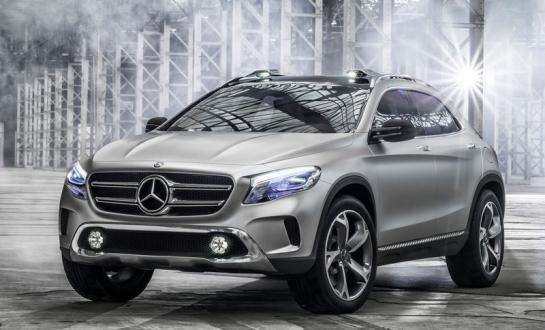 Concept Mercedes GLA