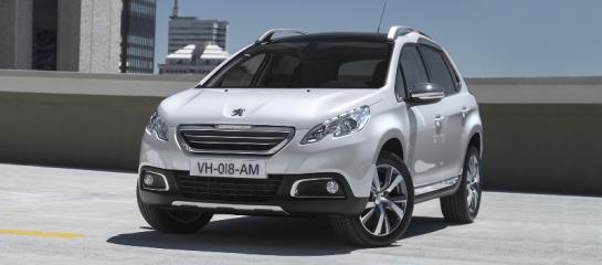 Peugeot 2008 arrière