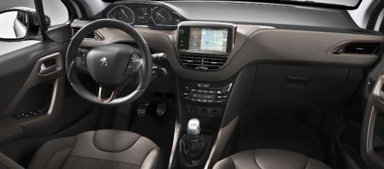 Peugeot 2008 interieur