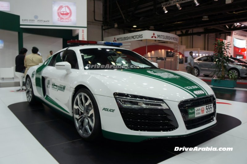 Le Garage De La Police De Duba 239 En Images