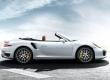 Porsche 911 Turbo Cabriolet 2013 décapotée