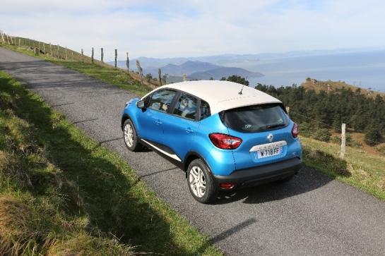 Renault Captur arrière