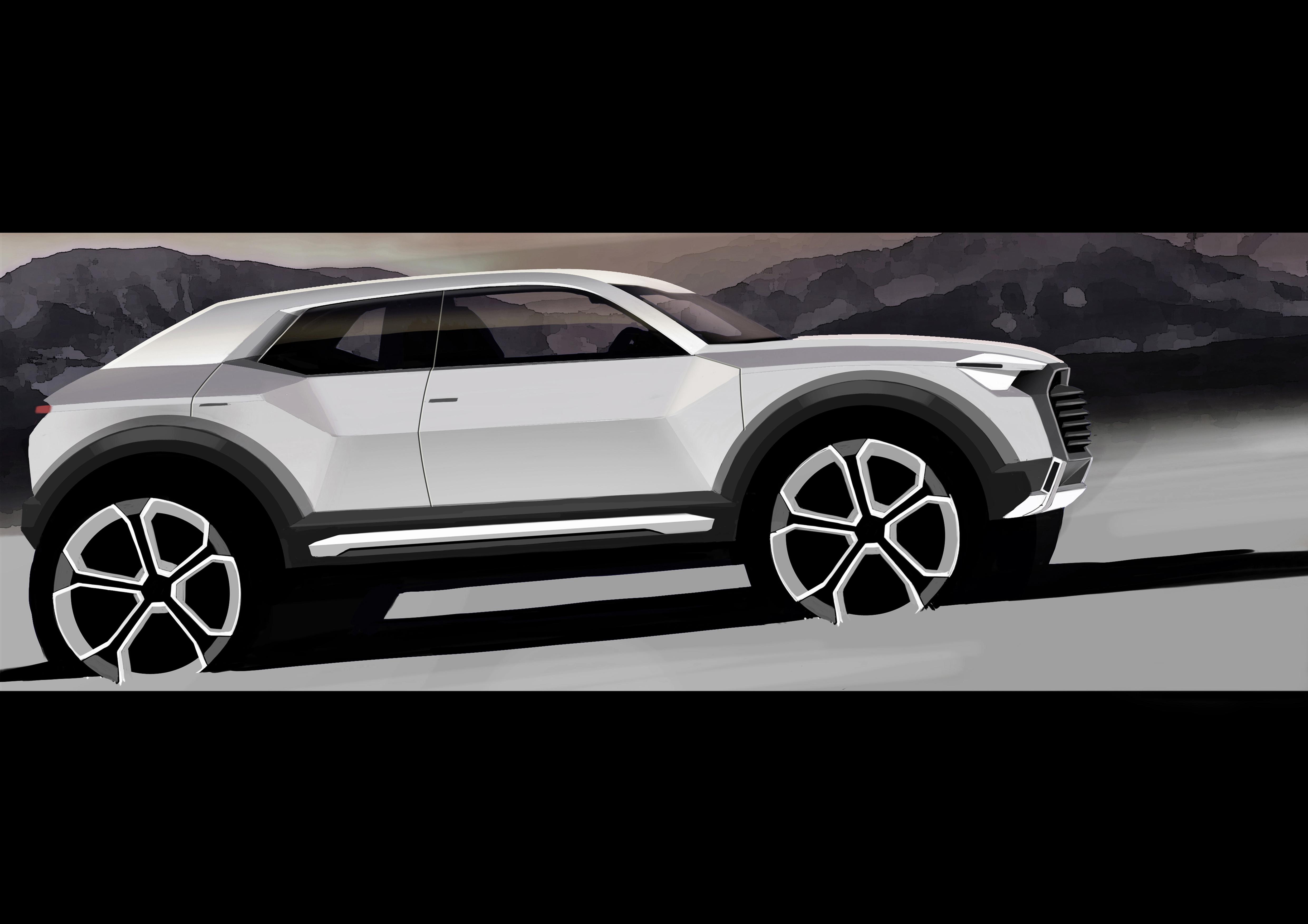 Audi Q1 concept