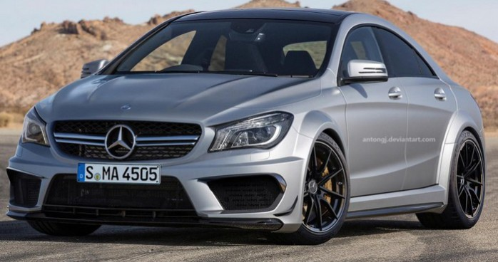 Mercedes CLA45 AMG Black Series