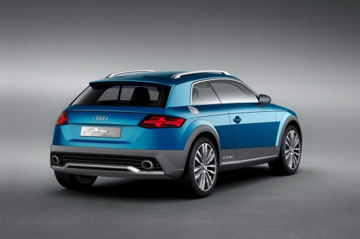 audi allroad shooting brake arriere