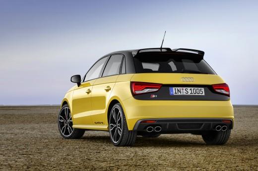 Audi S1 arrière