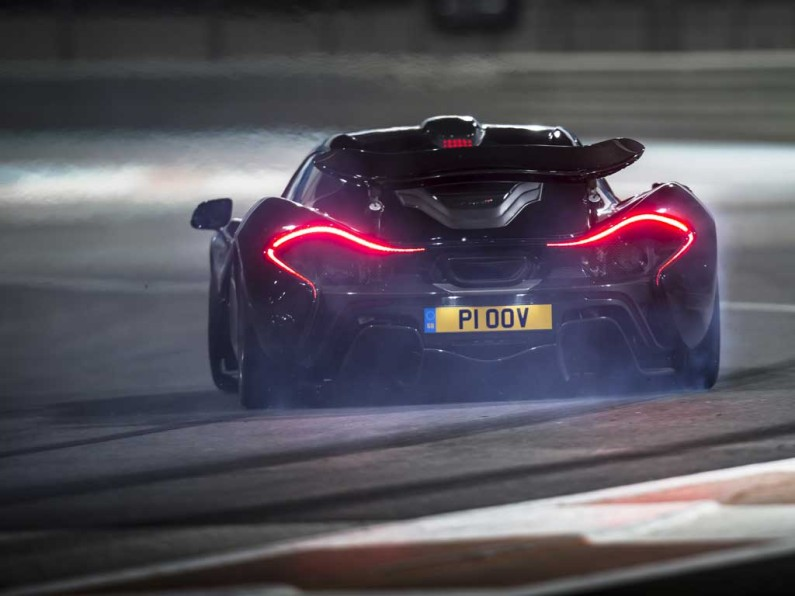 Chris Harris McLaren P1