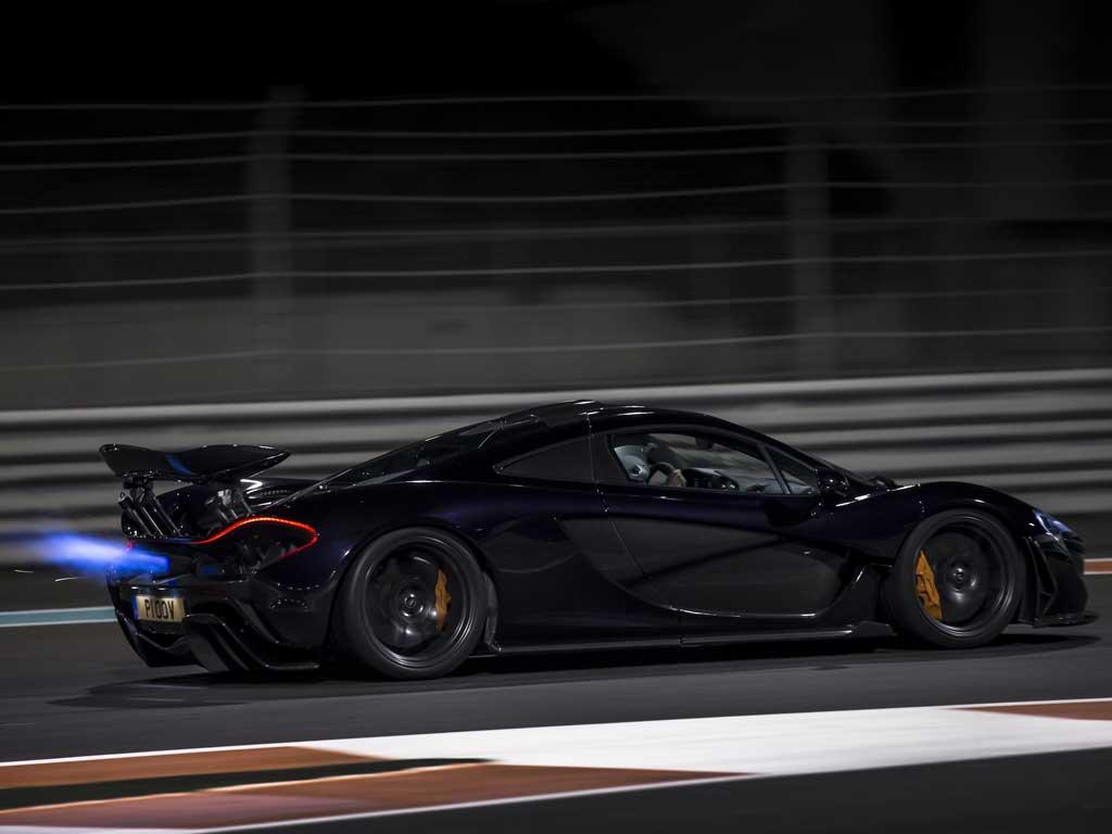 Chris Harris McLaren P1