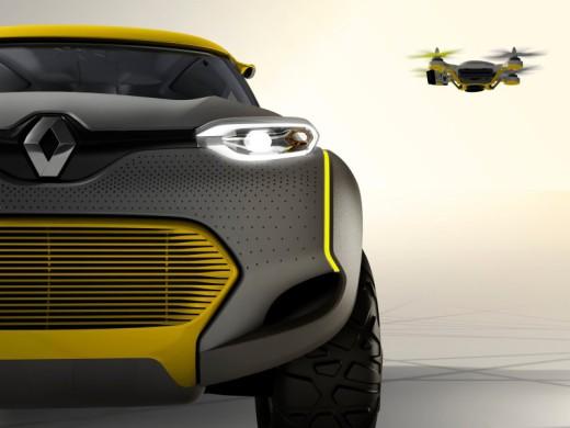 Renault KWid drone