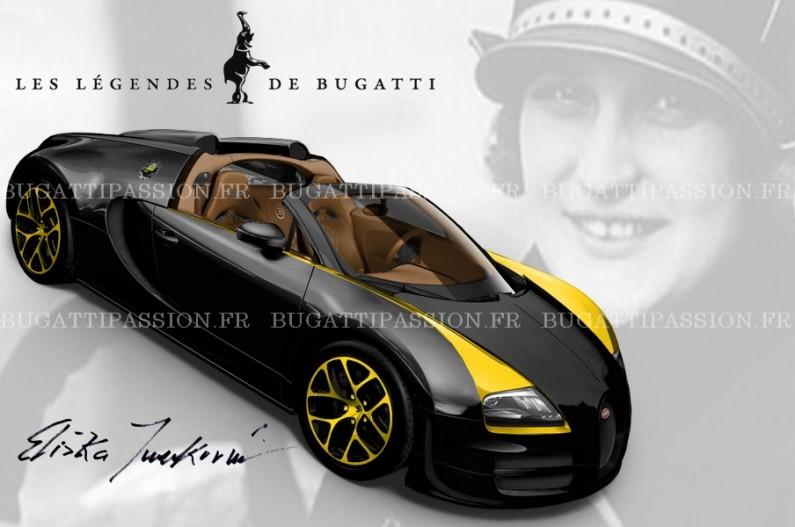 Bugatti Veyron 5e légende