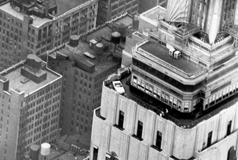 ford mustang empire state building 1965