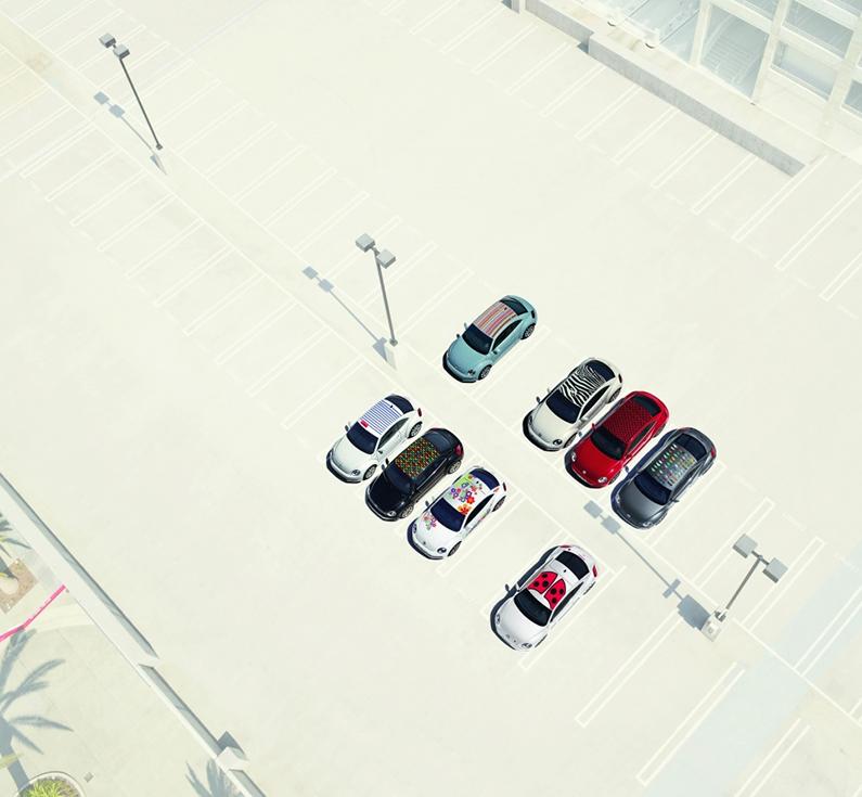VW coccinelle art