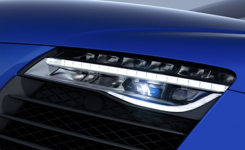 Audi R8 LMX laser