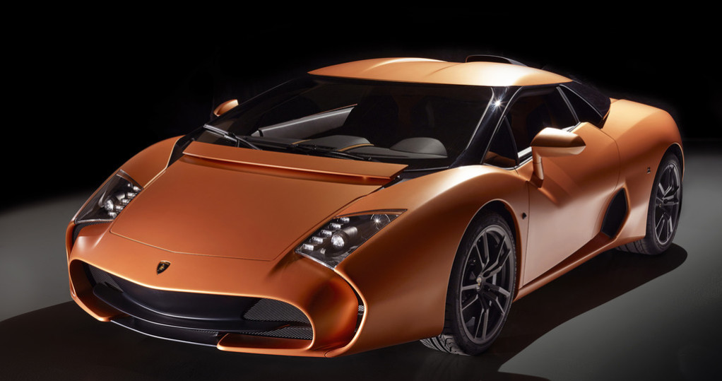 Lamborghini 5-95 Zagato 2014