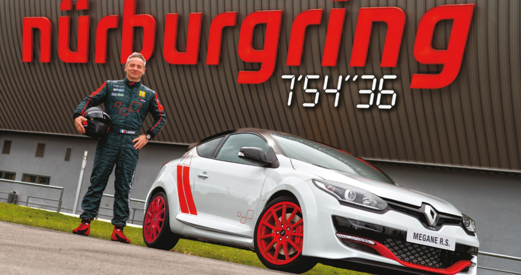 megane rs nürburgring