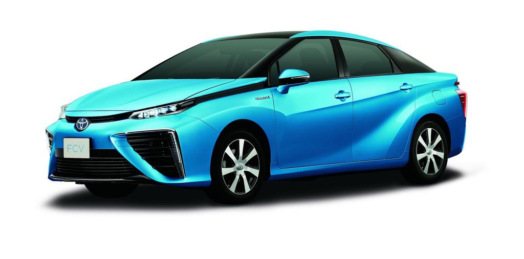 toyota fuel cell sedan la voiture hydrog ne pour 2015. Black Bedroom Furniture Sets. Home Design Ideas