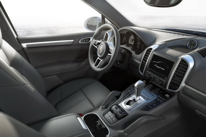 SUV Cayenne 2014 intérieur