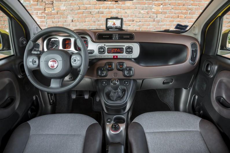Fiat Panda Cross intérieur