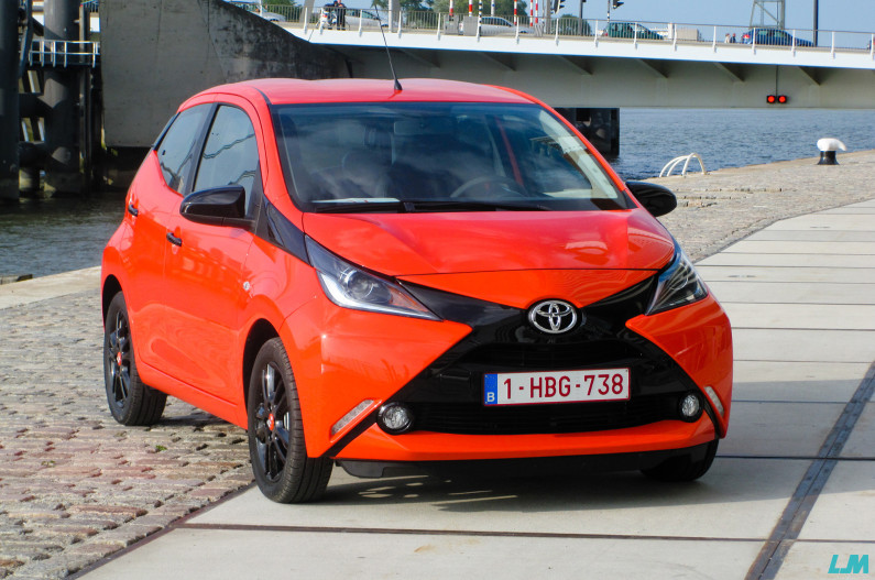 Toyota Aygo Orange Pop