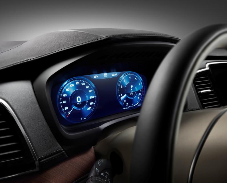 Volvo XC90 compteur numérique