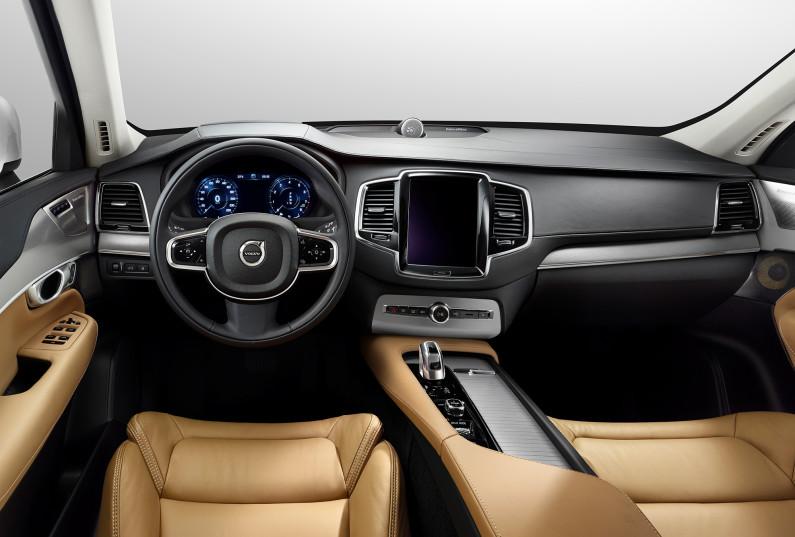 Intérieur du Volvo XC90
