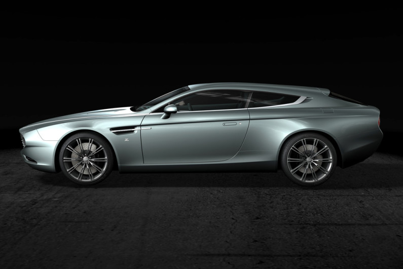 Aston Martin Virage Shooting Brake 2014