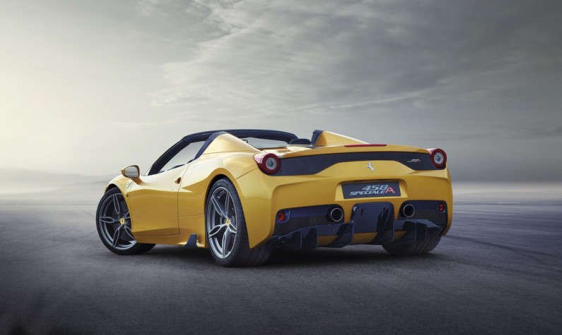Ferrari 458 Speciale A arrière