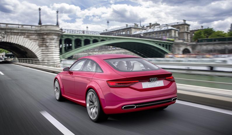 Audi TT Sportback concept arrière