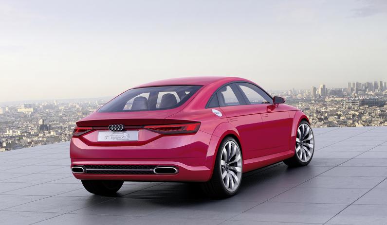 Audi TT Sportback concept vue arrière
