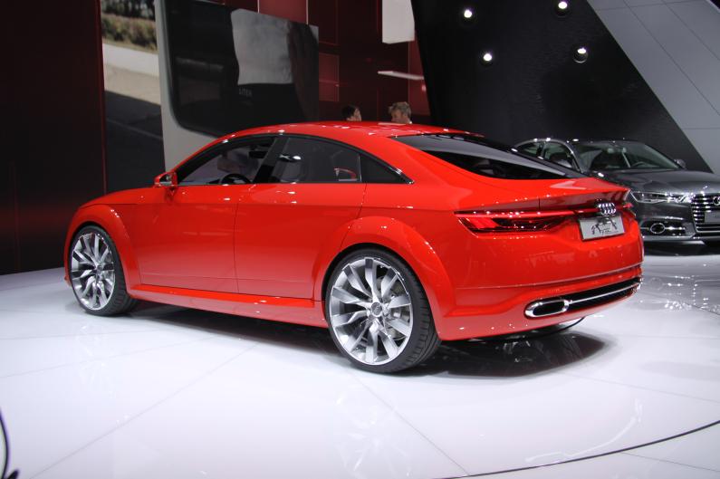Audi TT Sportback arrière