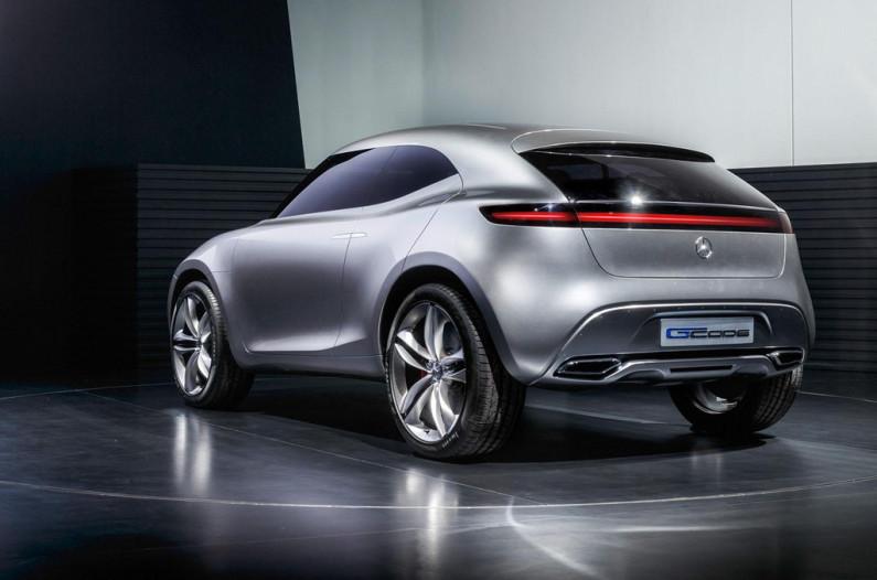 Mercedes G-Code Concept arrière