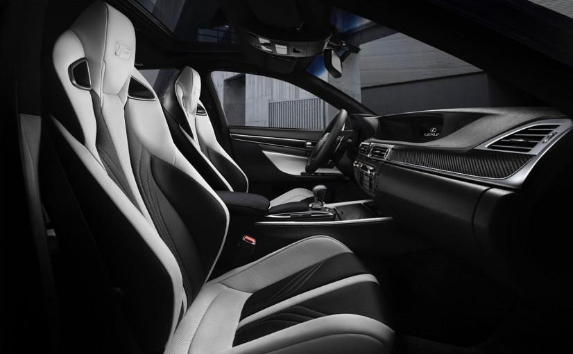 Lexus GS F intérieur