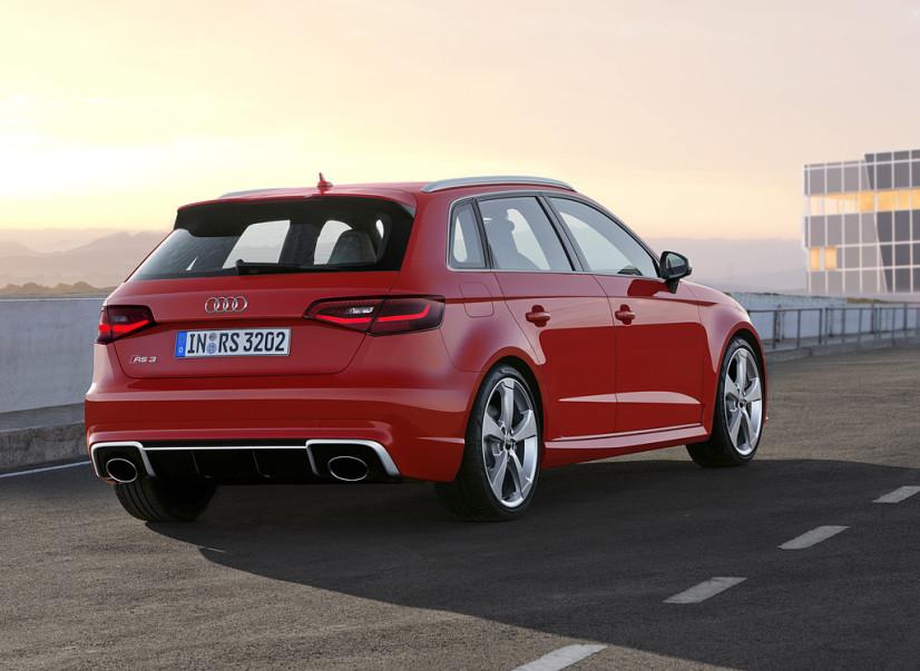 Audi RS3 Sportback arrière