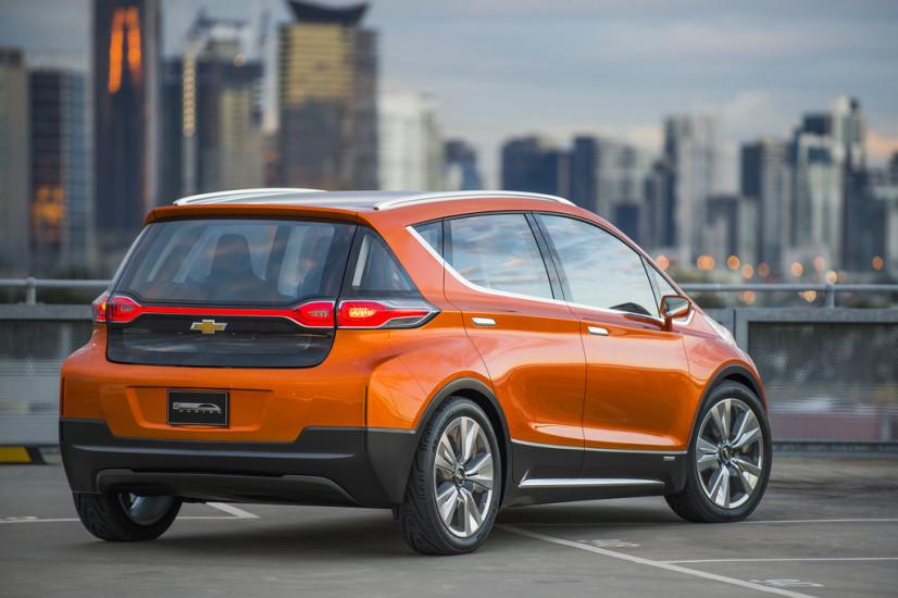 Chevrolet Bolt EV Concept vue arrière