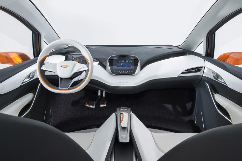 vue intérieur Chevrolet Bolt EV Concept