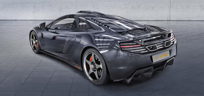 McLaren 650S Le Mans arrière