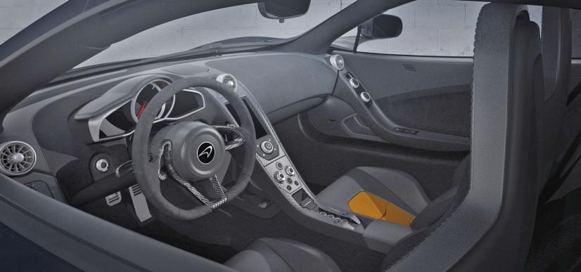 habitacle McLaren 650S Le Mans