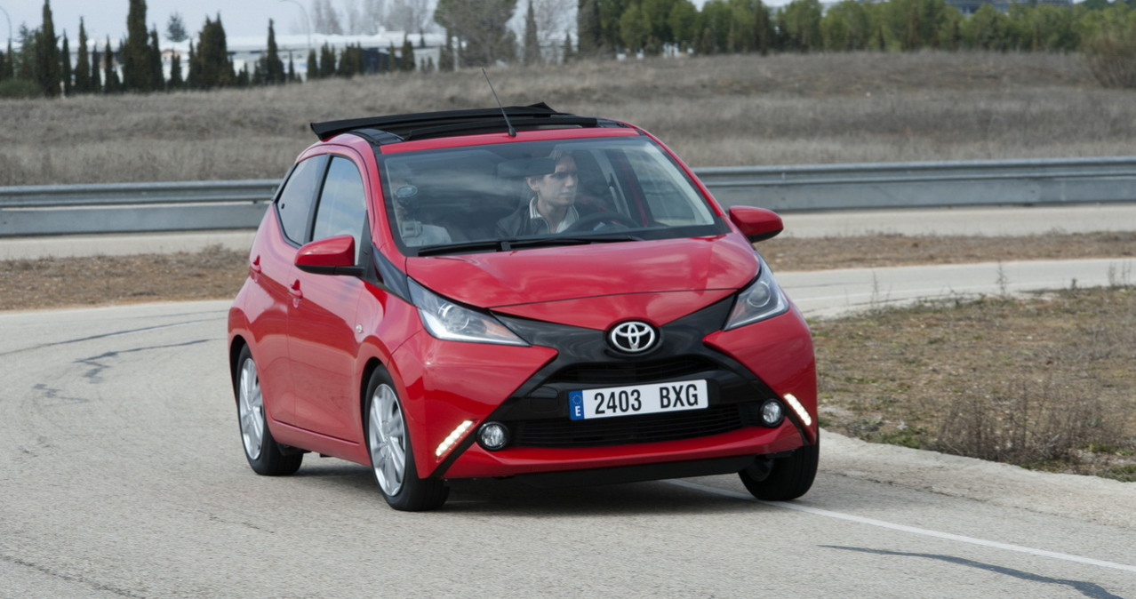 Toyota Aygo toit decouvrable