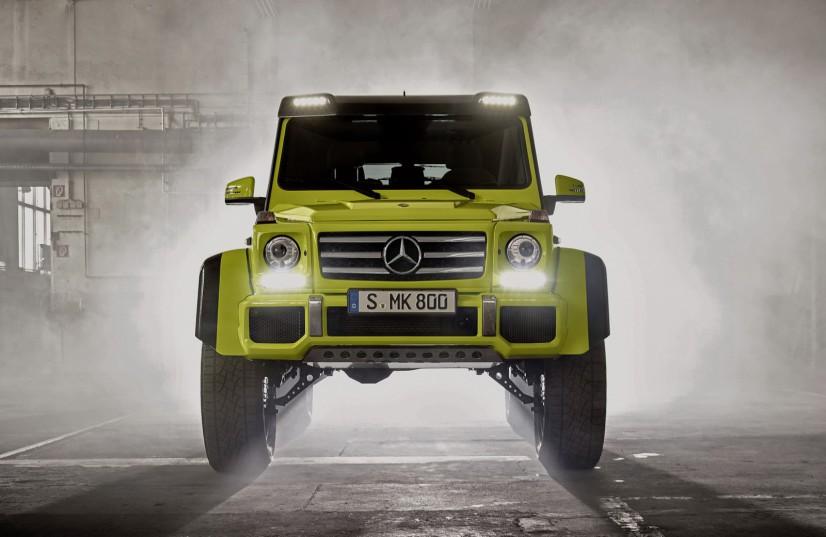 avant Mercedes G 500 4X4²