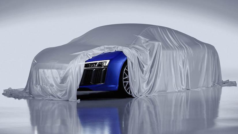 Nouvelle Audi R8 phares avants