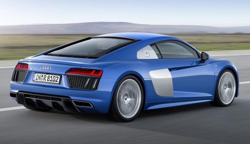 arrière de l'Audi R8 2015